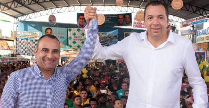 Resultado de imagem para Waguinho (PMDB), e do vice, Márcio Canella (PSL).