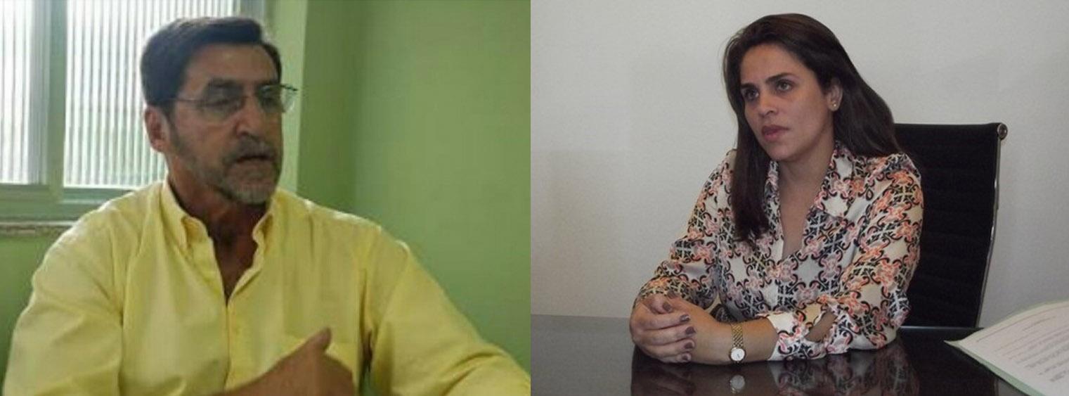 Luiz Mandiocão ganhou o direito de assumir o mandato e Ana Grasiela teve a candidatura indeferida